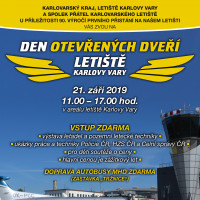 We invite you to the Open Day at Karlovy Vary Airport On 21 September 2019