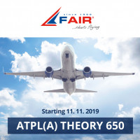 Distance-learning ATPL Theory course starts on 11th November 2019
